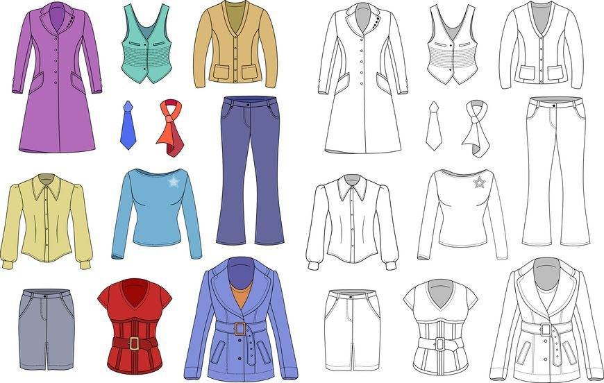 Top manager woman clothes collection