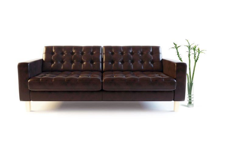 business24 ein schickes ledersofa zieht bewundernde blicke auf sich. Black Bedroom Furniture Sets. Home Design Ideas