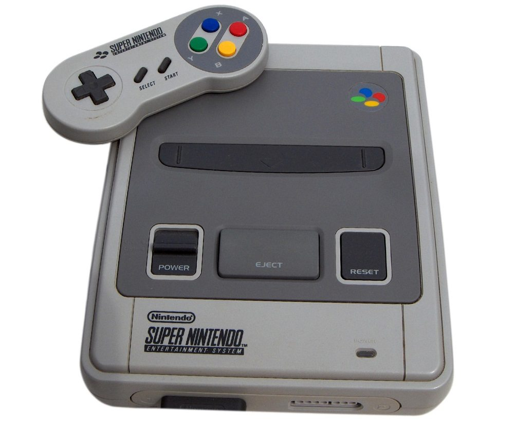 Super Nintendo Entertainment System, kurz SNES (Bild: © Céréales Killer - CC BY-SA 3.0)
